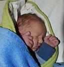 Kryštof Sládek z Tábora. Prvorozený syn rodičů Aleny a Martina přišel na svět 1. února v 8.12 hodin. Po porodu vážil 3750 gramů.