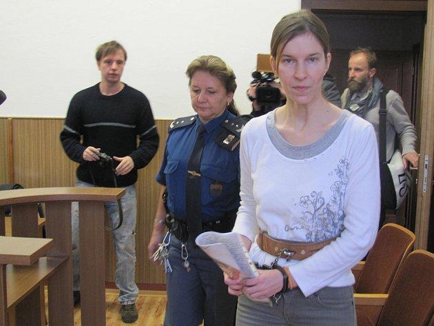 Ze soudní síně při rozsudku Ivany K.
