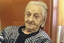 Zdeňka Marešová 92 let Chýnov.