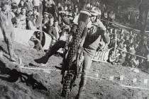 Z historie motocyklových závodů do Strmého vrchu v Chýnově.