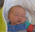 Radek Dolejší z Plechova. Narodil se 7. července v 10.32 hodin s váhou 3140 gramů. Je druhým synem v rodině, doma už má brášku Vendu, kterému je dva a půl roku.