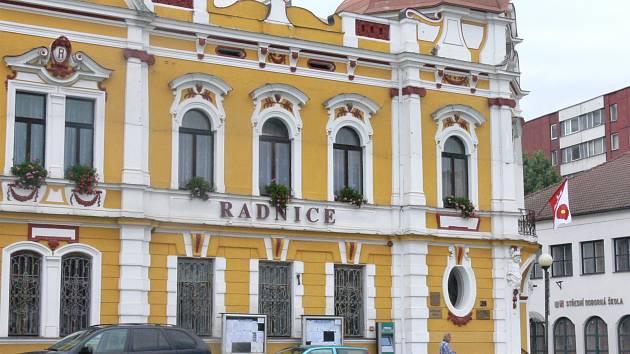 Radnice ve Veselí nad Lužnicí. Ilustrační foto