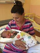 Adam Loskota se narodil v pondělí 1. ledna 2018 v 00.05 hodin. Váží 3580 gramů a měří  51 centimetrů.