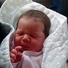 Barbora Čekalová z Pořína. Narodila se 5. května v 18.47 hodin jako třetí dítě v rodině. Vážila 4120 gramů, měřila 52 cm a už má brášky  Davídka (7) a Pavlíka (9).