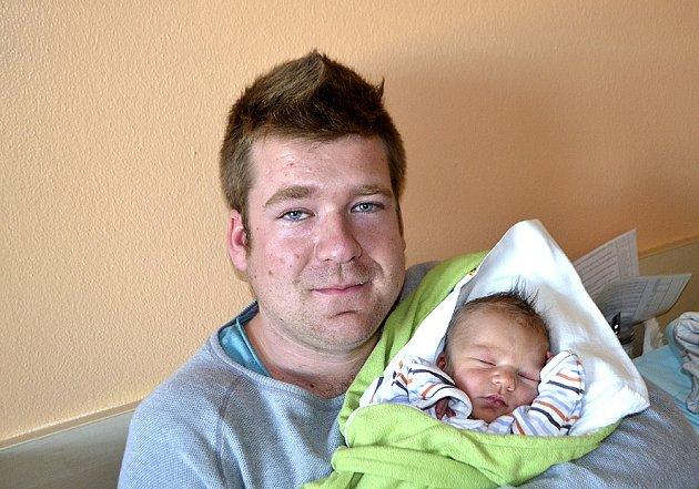 Marek Pražma z Klokot.  Rodiče Hana a Petr se 31. října v 11.40 hodin dočkali svého prvorozeného syna. Po porodu vážil 3220 gramů a měřil 48 cm.