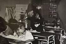 Z historie základní školy v Jistebnici.