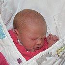 Aneta Navrátilová z Mašovic. Narodila se 21. listopadu minutu před druhou hodinou. Její váha byla 3170 gramů, míra 46 cm a doma má sestřičku Zuzanku (1,5).