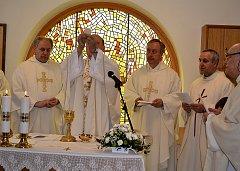 Vysvěcení nové kaple v domě chráněného bydlení ve Veselí nad Lužnicí.