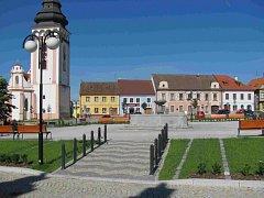 Oceněné bechyňské náměstí.