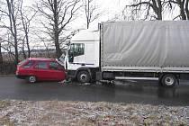 Dopravní nehoda Zhoř - Lom