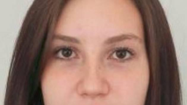 Pohřešovaná Jana Halamíčková.