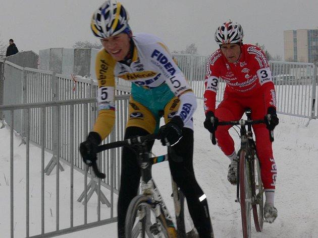 Mistrovství české republiky v cyklokrosu v Táboře.