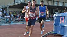 Foto z loňské Velké ceny Tábora, konkrétně z Memoriálu Ing. Jana Pána v běhu na 800 metrů.