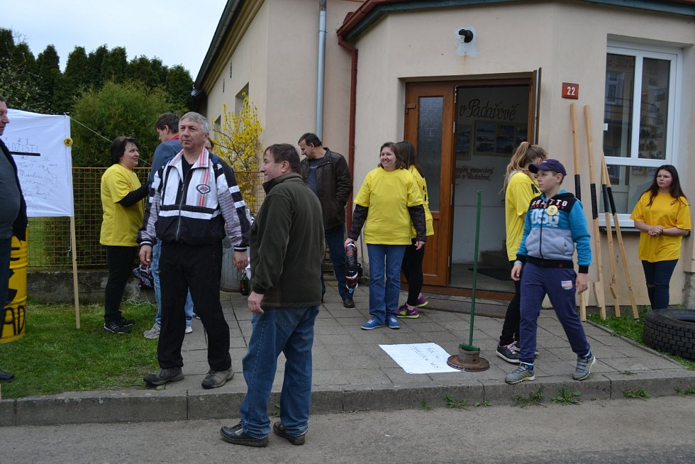 Den proti úložišti v Padařově na Jistebnicku.