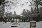 Pro rodiny s dětmi má Kozí Hrádek pod sněhem veliké kouzlo.