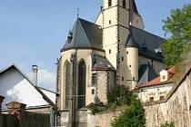 Gotický kostel Nanebevzetí Panny Marie v Bavorově.