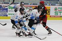 Z domácího utkání dorostu HC Tábor proti Mountfieldu.