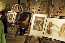 Vernisáž výstavy a křest knihy Linie touhy v Muzeu a obrazárně Špejchar v sobotu 13. července.