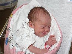 ADÉLA MAKOVCOVÁ Z TÁBORA.  Přišla  na svět 6. července v 16.56 hodin. Po narození  malé Adélce navážili  3200 g a naměřili 49 cm .