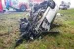 Tragická nehoda u Hodušína na Táborsku.