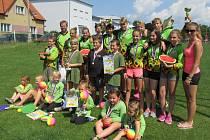 Mladí hasiči soutěžili o pohár starostky Malšic. Foto: Lenka Pospíšilová