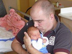 AGÁTA SOVOVÁ Z TÁBORA. Prvorozená dcera  Květy a Aleše přišla na svět 7. dubna ve 2.06 hodin. Její váha byla 2740 g a  měřila 47 cm.
