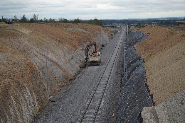 Nový železniční koridor