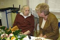 Růžena Radostová oslavila 102 let