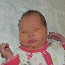 Lily Kubíčková z Milevska. Na svět poprvé pohlédla 7. listopadu v 11.21 hodin. Vážila 3450 gramů, měřila 49 cma už má osmiletého brášku Marka.