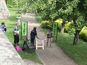 Bezmála 1200 závodníků zavítalo v sobotu na sprinterské mistrovství České republiky vorientačním běhu do Tábora.