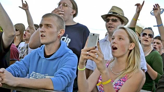 Na Footfestu v Želči bylo pořádně živo už v pátek odpoledne.