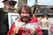 Na každé významné akci v obci nechybí Zdeněk Troška.