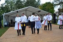 V sobotu hodinu po poledni se naplno rozhořel mimořádně bohatý program Svatováclavských slavností.
