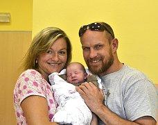 Jana Slabová z Brandlína.  Prvorozená dcera rodičů Heleny a Rudolfa přišla na svět 5. září v 10.15 hodin. Její váha byla 3220 gramů a míra 49 cm.