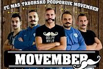 Movember v FC MAS Táborsko.