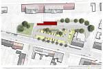 VIZUALIZACE. Přestupní terminál přinese cestujícím nové sociály, čtyři krytá autobusová stání a parkoviště.