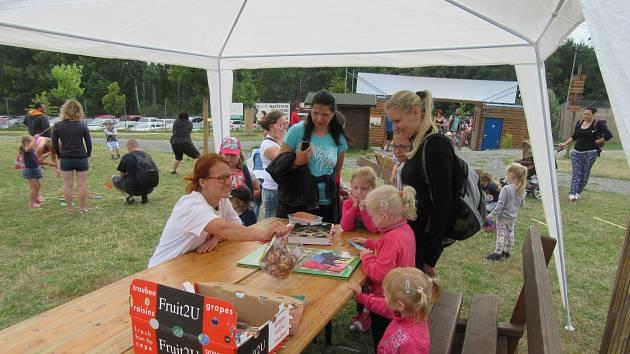 Zoo Tábor připravila hry pro malé ošetřovatele.