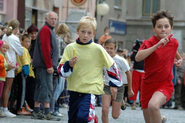 běh ilustrační foto