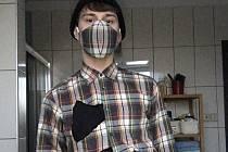 Marek Matějka studuje čtvrtý ročník oboru modelář a návrhář oděvů na střední odborné škole v Třeboni.