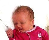 Sofie Doubková z Tábora. Přišla na svět 11. listopadu ve 22.20 hodin jako druhé dítě v rodině. Vážila 3320 gramů, měřila 49 cm a  bráškovi Daníkovi je dva a půl roku.