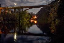 Švehlův most objektivem Miroslava Koláře
