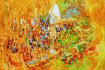 Miroslav Šisler, rodák z Roudnice nad Labem, absolvoval experimentální malířskou školu Jiřího Sopka na pražské Akademii výtvarných umění. V současné době žije a pracuje na Šumavě.
