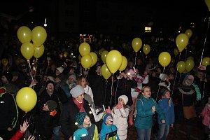 Dopis s vánočním přáním dolétl na baloncích až do Polska