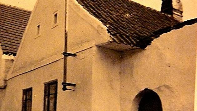 RODNÝ DŮM Františka Matějky v Budislavi.
