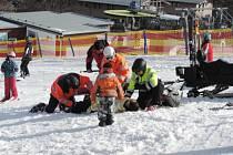 Preventivní akce Bezpečně na Monínci se každoročně těší hojné návštěvnosti z řad veřejnosti.