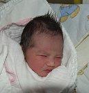 Bao Chi Ngo z Tábora. Narodila se 24. ledna v 7.18 hodin. Vážila 2680 gramů, měřila 47 cm a je prvorozenou dcerourodičů  Hanky a Dominika.