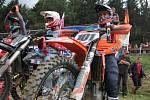 V Pacově se jel pátý závod mezinárodního mistrovství republiky v motokrosu.