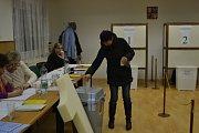 Prezidentské volby v Mladé Vožici.