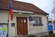 Prezidentské volby v Dolních Hrachovicích.