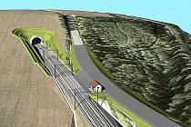 PRVNÍ železniční tunel v Jihočeském kraji vznikne před Sudoměřicemi.